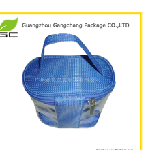 wholesale large size cosmetic bag pvc with zipper