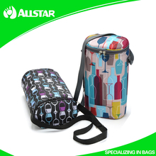 Promotional wholesale wine cooler bag with thermal lined