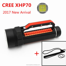2017 Kechuang fire New style USA CREE XHP70 led 5000 lumen flashlight with 26650 lion batteries