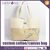 Canvas Messenger Bags For Teens Large Cotton Tote Bags