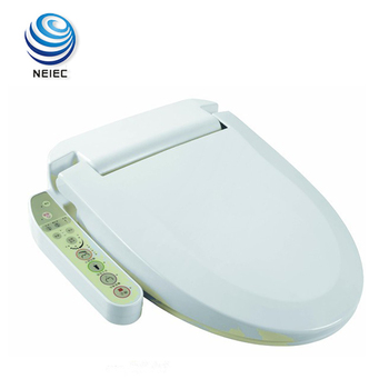 Special design for women washing plastic electrical intelligent white padded toilet seats