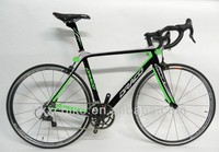 2014 cool style carbon fiber city racing bike bicycle 700C 18 speed factory price