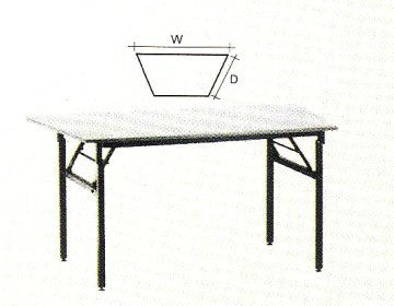 Folding table 2ft