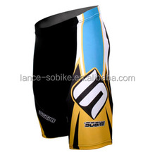 Men's Colorized Sublimated Print Cycling Shorts Compression Tights Bicycle Bike Padded Shorts no MOQ