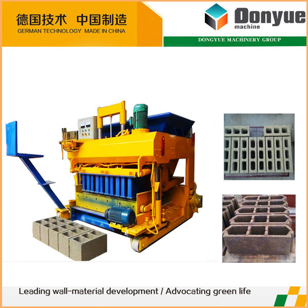 good quality movable hollow block making machine philippines made in China