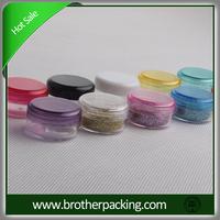 30grams clear transparent plastic cream jar for cosmetic packaging Nail Polish