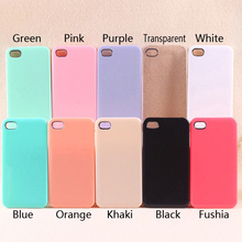 Cheap Pure Color Multicolor Phone Case For Iphone 4 4s PC Phone Cover For Iphone5