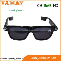 smart myopic lens glasses with video camera
