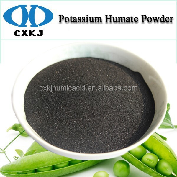 high grade organic Potassium humate humic acid salts