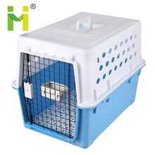 Plastic pets carrier kennel house steel dog kennel gates