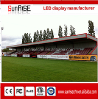 High Definition Big Outdoor Full Color P16 Football Sport Stadium LED Perimeter Display Screen