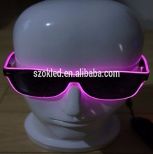 Hot Selling! Different Colors Light Up EL Wire Sunglasses