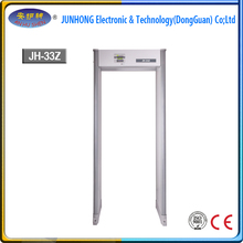2017 new function 33 Zone walkthrough Metal detector door frame metal detector