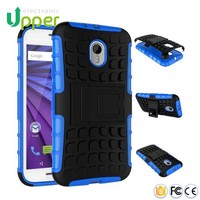 wholesale 2 in 1 hybrid fancy football cover back case for moto g2 motorola g2 xt 1068
