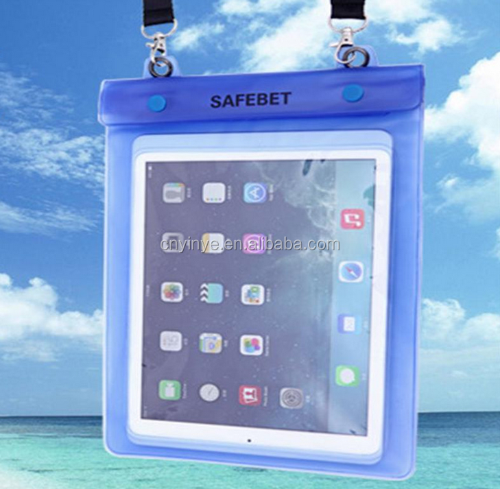 PVC waterproof bean bag, outdoor waterproof dry bag, waterproof pouch for Ipad