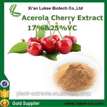 2017 Acerola cherry Fruit Extract Acerola cherry Juice Powder Acerola Cherry Freeze Dried Powder