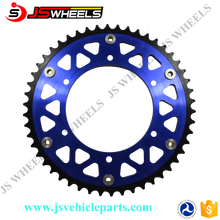 China Factory Custom Different Size Motorcycle Aluminum Rear Sprocket