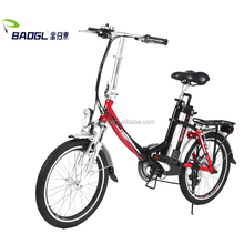 "baogl 20 inch customized foldable electric bike of 36V250W BAFANG with Kenda, 20"" x 1.75"""