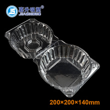 High quality Large Plastic Salanova Lettuce Clamshell Packaging Container