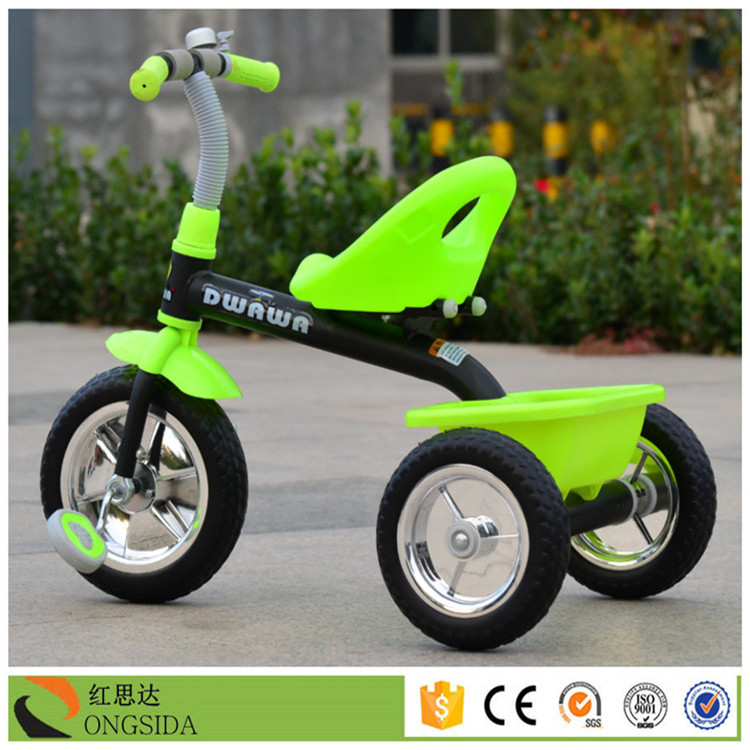 2017 alibaba first choice baby tricycle also can learn ride on child three wheel bike