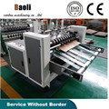 Automatic high speed paper board partition machine/Paper Material Carton box machinery