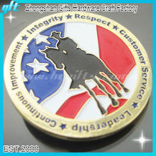 2013 Best Selling Replica souvenir custom antique soft enamel coins round coin for wholesale
