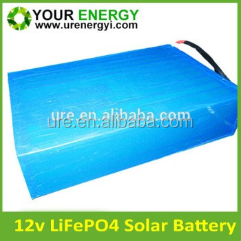 12v 100ah inverter battery low self discharging with deep cycle for solar inverters