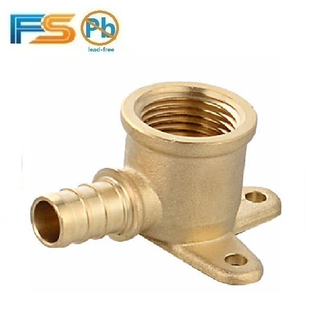 Professional factory made lead free c46500 copper CUPC faucet elbow threaded pipe fitting with brass seat