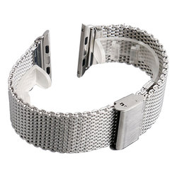 High Quality Stainless Steel Wrist Band Strap For Apple Watch iWatch 1/2/3 38/42