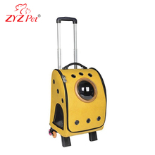 ZYZ PET capsule pet carrier trolley pet carrier