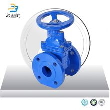 China manufacture ductile iron picture electric gate valve