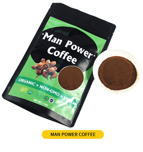 Certified Organic Maca Coffee XOXO Strongman Natural Herbs Super Strong Sexiest