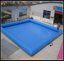 High quality 0.9mm pvc inflatable pool , swim pool , swimming pool for water part