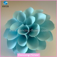 Paper Blossom Artificial Dahlias Flower Supplier (WFAM-22)