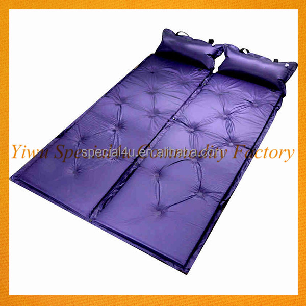 Automatic Inflatable Sleeping Pad with Pillow For Outdoor Camping for sale SPEC-004