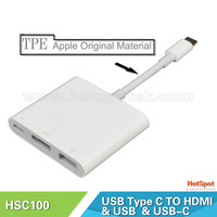 Type C USB High Speed 3 port USB-C 3.1 HUB usb3.1 type-c to hdmi cable adapter