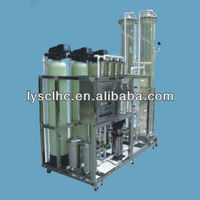 Anion and cation exchange system/Fully Automatic Softening System