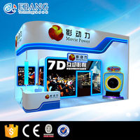 Simply equipped 5d cinema cabin, fashionable 5d cinema house