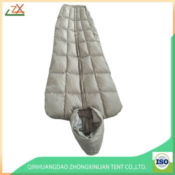 Outdoor Walking Hiking Warm Light Weight Professional Sleeping Bag for Army