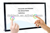 interactive information advertising touch monitor 42 inch
