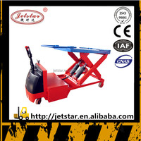 CE certification stocke price electric pallet lift platform truck