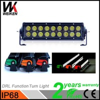 Customized 54W offroad led light bar 10inch truck led lamp strip jeep suv atv 4x4 truck