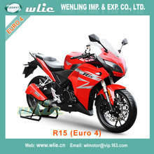 Suzuki motorcycle 125cc super racing cheap motorcycles EEC Euro4 Racing Motorcycle R15 Water cooled EFI system (Euro 4)