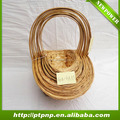 Wholesale decorative bamboo Storage Baskets for home and garden