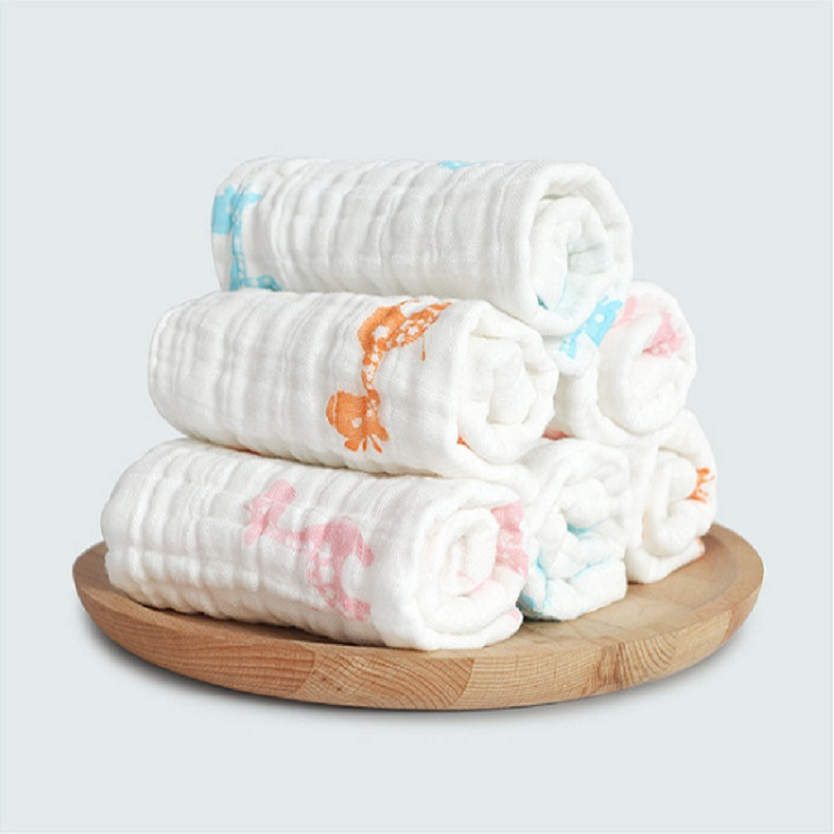 baby products softtextile cotton muslin baby wipe cloth