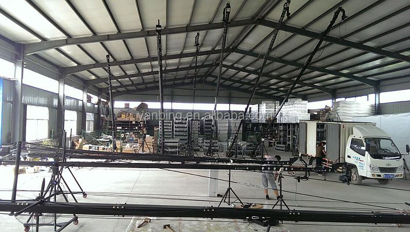 Video Shooting Professional Triangle Jimmy Jib Camera Crane For Sale