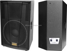 professional dj music system 15 inch stage speaker/outdoor concert stage speaker/sound bar speaker