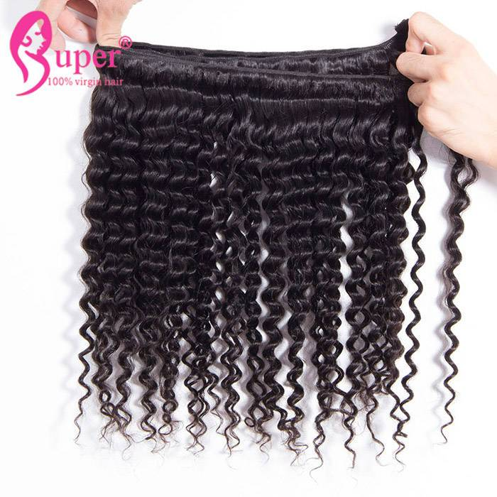 Eurasian Curly Cuticle Aligned Mink Raw Unprocessed Human Hair Bundles Weave Direct Wholesale Price