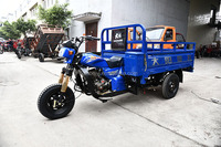 2018 high quality factory price 200cc Trike cargo three wheel motorcycle In Mozambique
