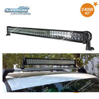 240W Super Bright 240W Off Road Light Bars LED Work Lamp ATV UTV 4X4 Jeep Dune Buggy Boat Camping Pop SM6021-240